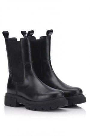 Sorte boots Shoe Biz - Prima Superlamb B8971