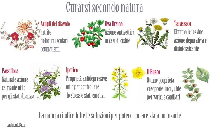 Curarsi sezondo natura