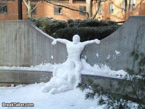 snowmanblowjob