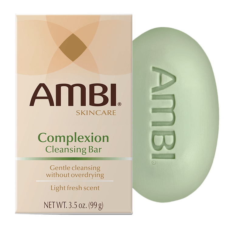 AMBI® Complexion Cleansing Bar makes daily cleansing easy for face and body