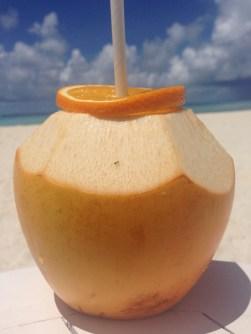Iced coconut