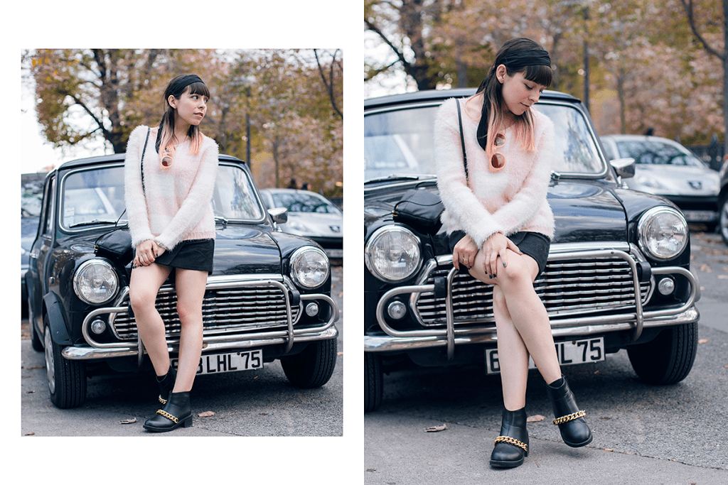 Grace and Mila Outfit of the Day in Paris by Ambitieuse