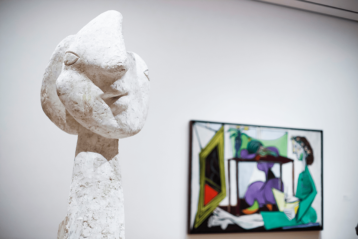 Picasso MoMA Photos of Winter in New York City february 2015