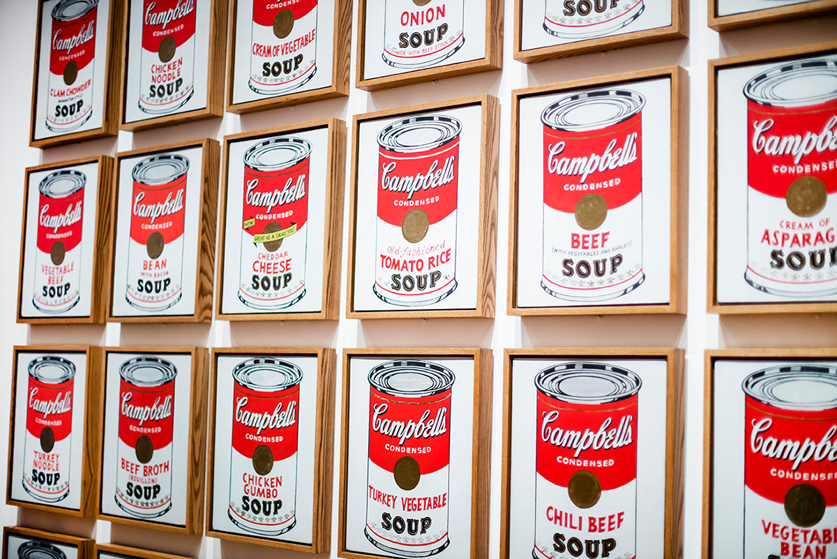 Campbells soup art MoMA Photos of Winter in New York City february 2015