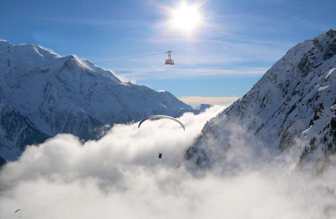 xxl Paragliding tandem flight in Chamonix-Mont-Blanc