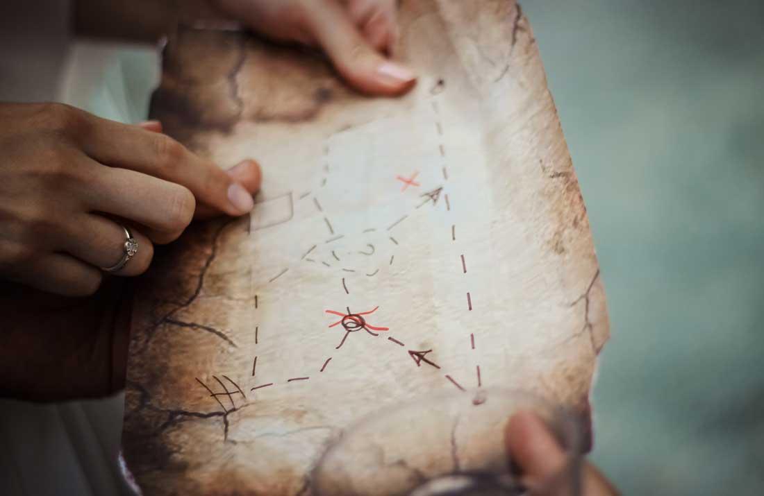 Treasure hunt chamonix hints