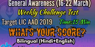 Current affairs quiz / general awareness quiz