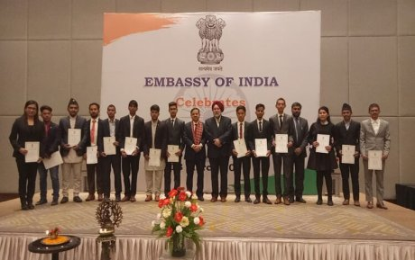 Indian Embassy awards 200 scholarships to meritorious Nepali students