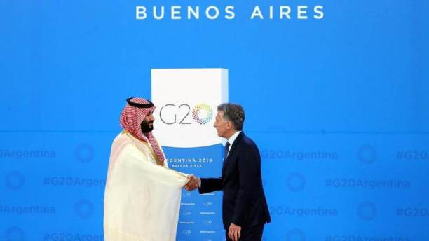 The first G20 meeting in the Arab world will be held in November 2020