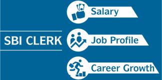 sbi clerk career growth ,salary