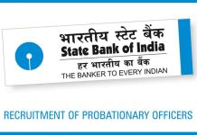sbi po 2019 notification