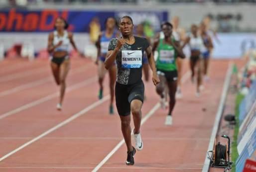 Diamond league: Semenya wins Doha 800m in first race since gender ruling defeat