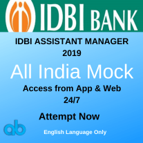 IDBI Assistant manager 2019