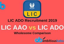 LIC AAO vs LIC ADO complete Comparison