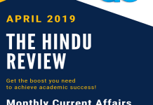 The hindu Review April 2019