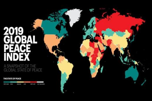 India slips 5 places to 141 on Global Peace Index 2019; Iceland again tops