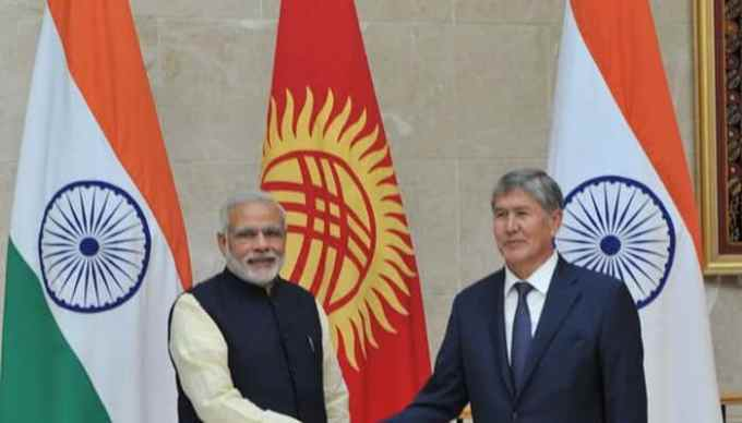PM Modi Announces $200 Million Line of Credit for Kyrgyzstan as Two Sides Sign 15 Pacts