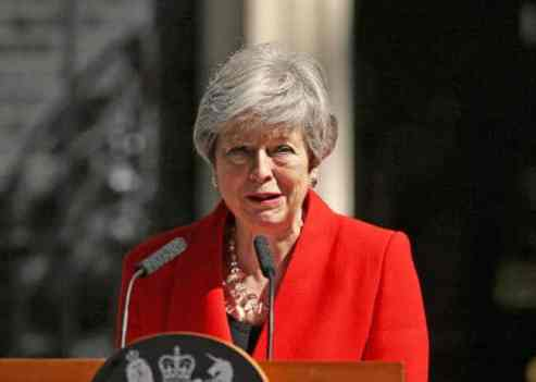 Theresa May quits as UK PM, starting succession race