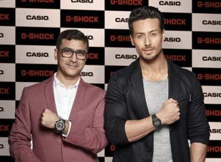 Casio India announces Tiger Shroff as the G-Shock India brand ambassador