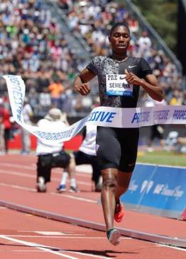 Caster Semenya won women's 800m world title