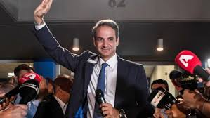 Greek elections: New Democracy Party wins, Greece's new centre-right Prime Minister Kyriakos Mitsotakis
