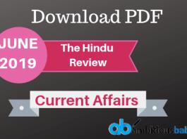 The Hindu Review June 2019 PDF
