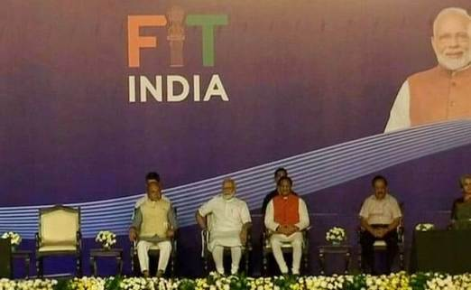 PM Narendra Modi launches 'Fit India Movement'