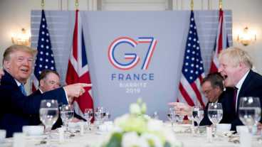 45th G7 Summit begins in Biarritz, France