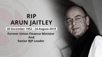 Arun Jaitley, Senior BJP Leader and Former financial Minister, Dies At 66