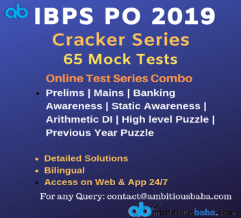 Best IBPS PO 2019 Online Test Series