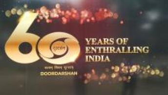 Doordarshan is celebrating its 60 years