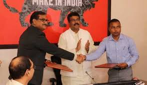 Ministry of Railways MoU with Government of Odisha