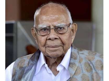 Ram Jethmalani former union minister, dies at 95