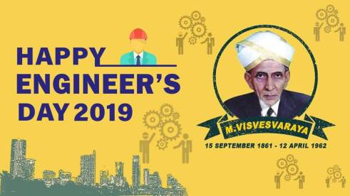 September 15- Engineers' Day
