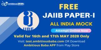 JAIIB Paper 1 All India Mock JPG