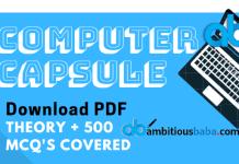 Computer Capsule