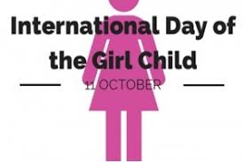 11th October: International Day of Girl Child 2019