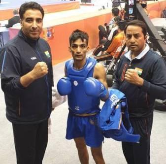 Praveen Kumar won gold in Wushu World Championship
