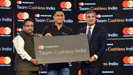 Mastercard joins hands with MS Dhoni to build 'Team Cashless India'