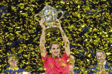 Federer Won 10th Basel Title