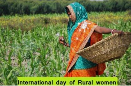 15 October: International Day of Rural Women