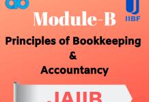 Principles of Bookkeeping & Accountancy