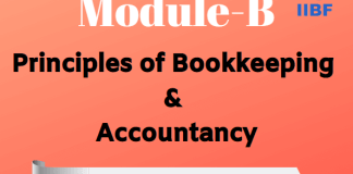 Principles of Bookkeeping & Accountancy