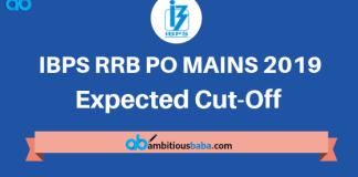 IBPS RRB PO MAINS 2019