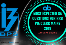 Most expected GA Questions for RRB PO_Clerk Mains 2019 (1)