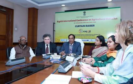 India to host the 8th International Conference on Agricultural Statistics in New Delhi