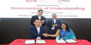 Ficci signs Fintech MoU with Singapore