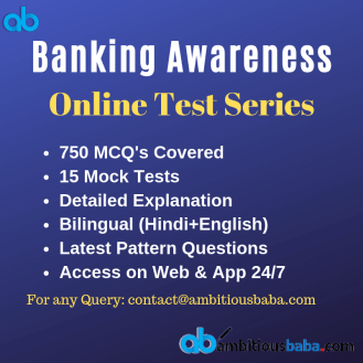 Banking Test Series
