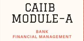 CAIIB Paper-2 MODULE – A