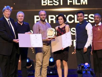 'Particles' wins the Golden Peacock Award at IFFI 2019